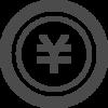 コイン型の円アイコン